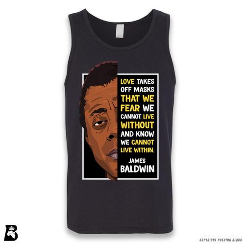 'The Legacy Collection - James Baldwin - Love' Sleeveless Unisex Tank Top
