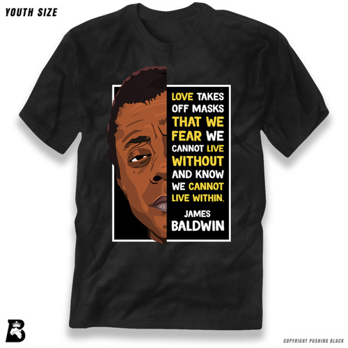 'The Legacy Collection - James Baldwin - Love' Premium Youth T-Shirt