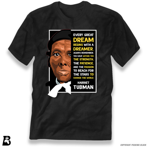 'The Legacy Collection - Harriet Tubman - Dream' Premium Unisex T-Shirt