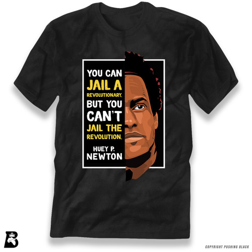 'The Legacy Collection - Huey P Newton - Can't Jail a Revolution' Premium Unisex T-Shirt