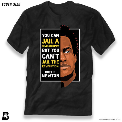 'The Legacy Collection - Huey P Newton - Can't Jail a Revolution' Premium Youth T-Shirt