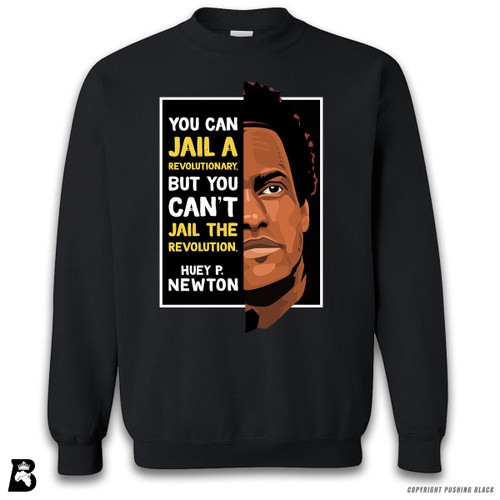 'The Legacy Collection - Huey P Newton - Can't Jail a Revolution' Premium Unisex Sweatshirt