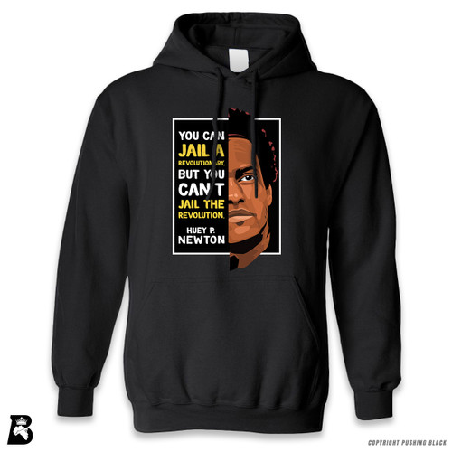 'The Legacy Collection - Huey P Newton - Can't Jail a Revolution' Premium Unisex Hoodie with Pocket