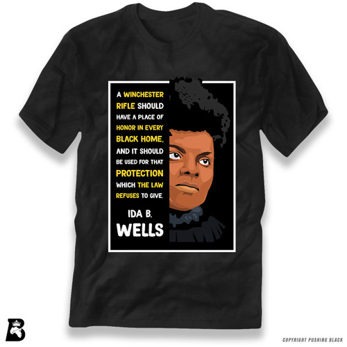 'The Legacy Collection - Ida B Wells - Winchester' Premium Unisex T-Shirt