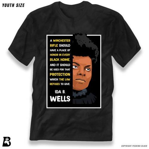 'The Legacy Collection - Ida B Wells - Winchester' Premium Youth T-Shirt
