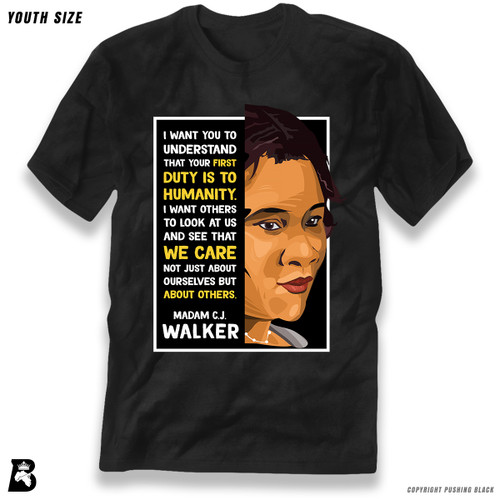 'The Legacy Collection - Madame C. J. Walker - Humanity' Premium Youth T-Shirt
