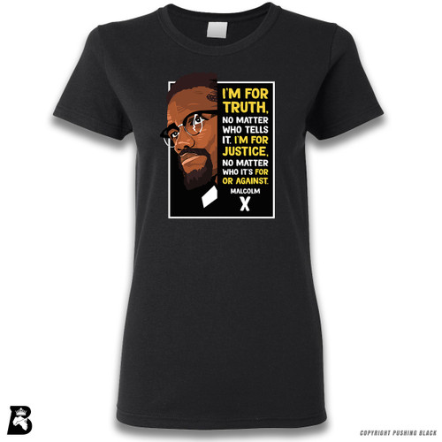'The Legacy Collection - Malcolm X - Truth and Justice' Premium Unisex T-Shirt