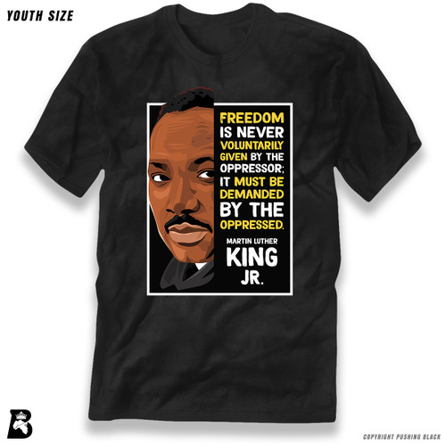 'The Legacy Collection - MLK Jr. - Demanded' Premium Youth T-Shirt