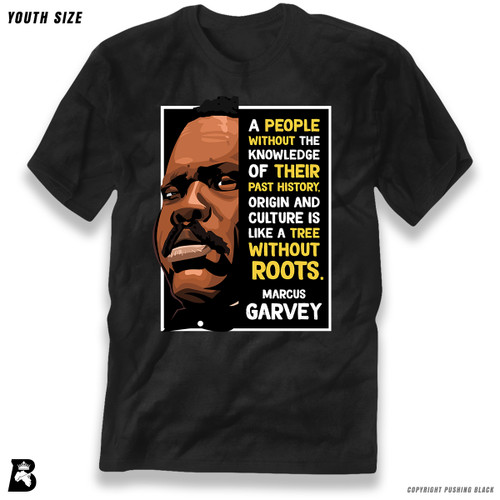 'The Legacy Collection - Marcus Garvey - Tree Without Roots' Premium Youth T-Shirt