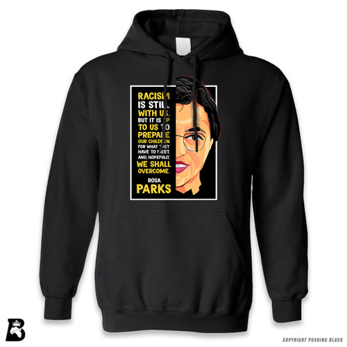 'The Legacy Collection - Rosa Parks - Overcome' Premium Unisex Hoodie with Pocket