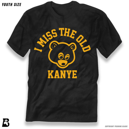 'I Miss The  Old Kanye - Bear' Premium Youth T-Shirt