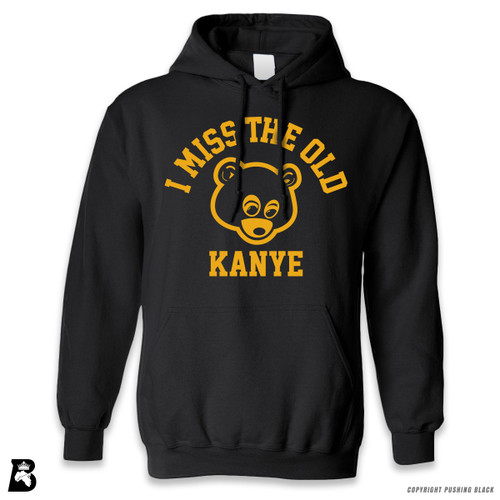 'I Miss The  Old Kanye - Bear' Premium Unisex Hoodie with Pocket