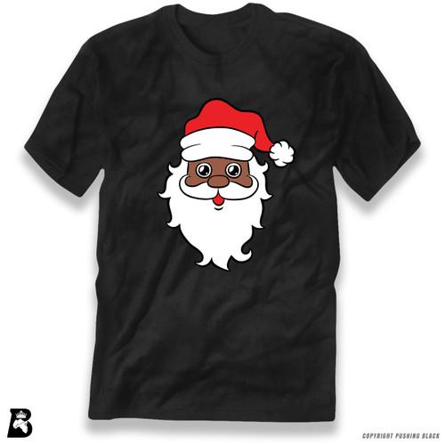 'Black Santa Face' Premium Unisex T-Shirt