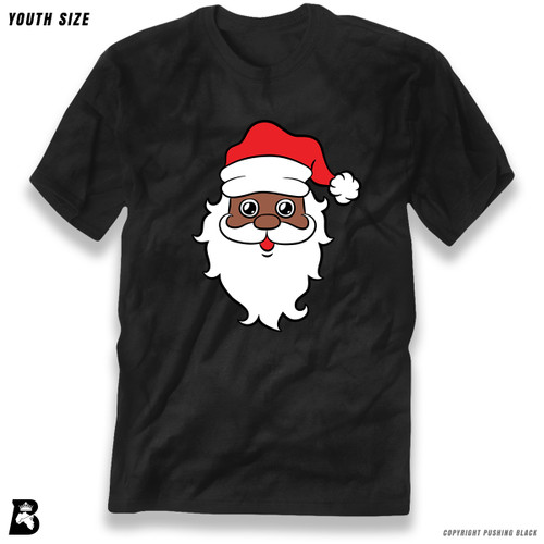 'Black Santa Face' Premium Youth T-Shirt