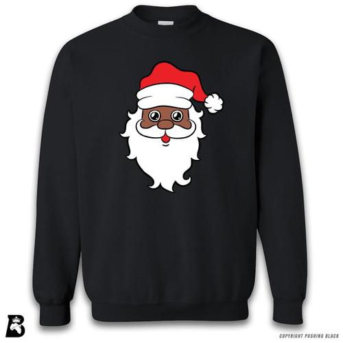 'Black Santa Face' Premium Unisex Sweatshirt