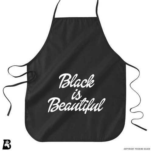 'Black Is Beautiful' Premium Canvas Kitchen Apron