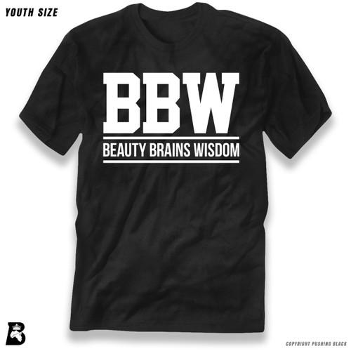 'Beauty Brains Wisdom' Premium Youth T-Shirt