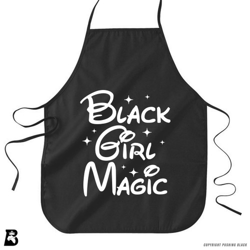 'Black Girl Magic 1' Premium Canvas Kitchen Apron