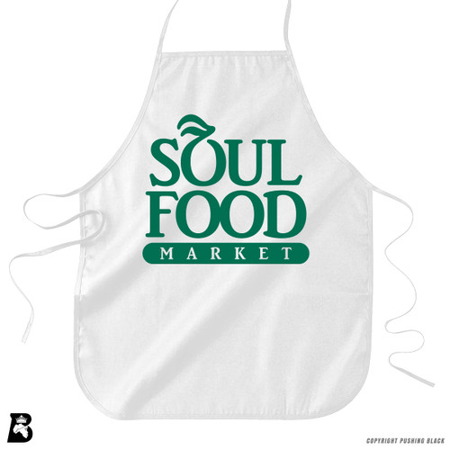 'Soul Food Market' Premium Canvas Kitchen Apron