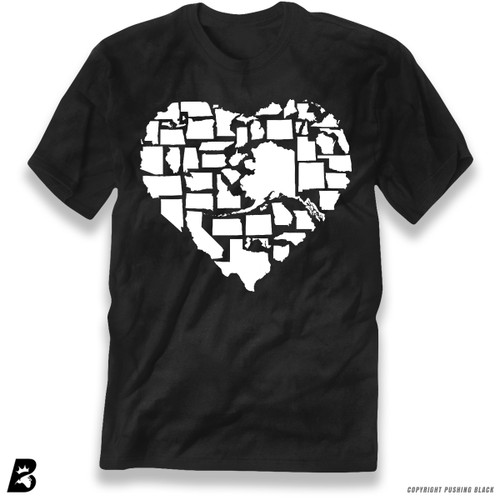 50 State Love USA Premium Unisex T-Shirt