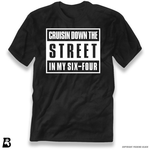 'Cruisn' Down The Street In My Six-Four' Premium Unisex T-Shirt
