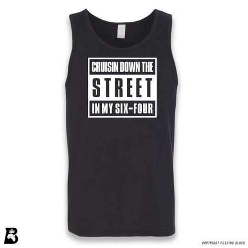 'Cruisn' Down The Street In My Six-Four' Sleeveless Unisex Tank Top