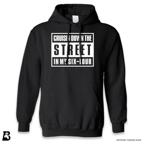 'Cruisn' Down The Street In My Six-Four' Premium Unisex Hoodie with Pocket