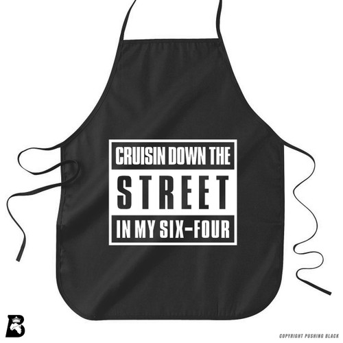 'Cruisn' Down The Street In My Six-Four' Premium Canvas Kitchen Apron