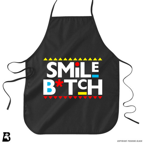 'Smile Bitch' Premium Canvas Kitchen Apron
