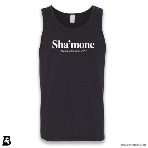 'Sha'mone' Sleeveless Unisex Tank Top