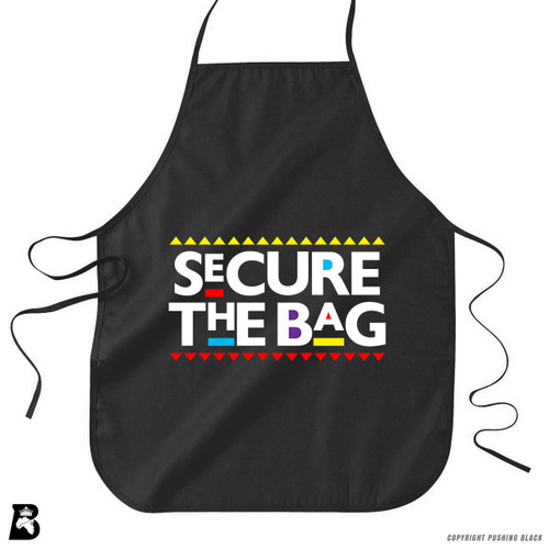 'Secure the Bag' Premium Canvas Kitchen Apron