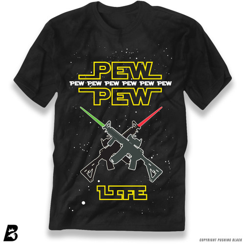 'PEW PEW LIFE' Star Wars Premium Unisex T-Shirt
