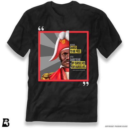 'The Legacy Collection - Jean-Jacques Dessalines' Premium Unisex T-Shirt