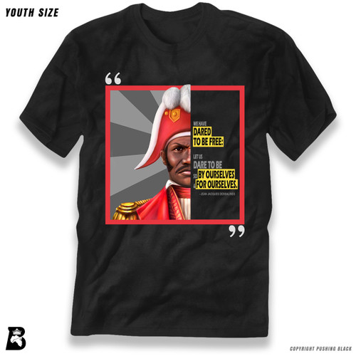 'The Legacy Collection - Jean-Jacques Dessalines' Premium Youth T-Shirt