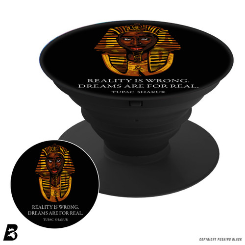 Tupac Shakur Pharaoh Pop Mount Socket Phone Holder and Stand