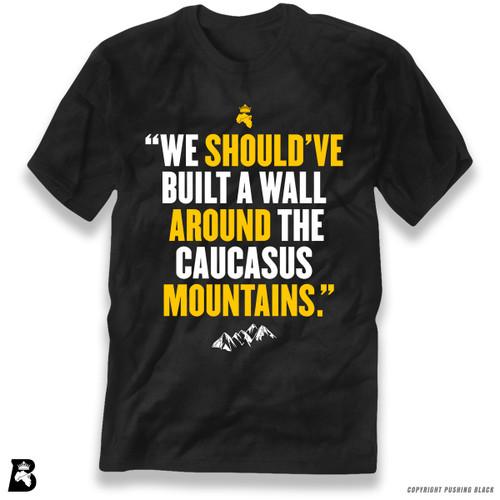 'Wall Around the Caucasus Mountain' Premium Unisex T-Shirt