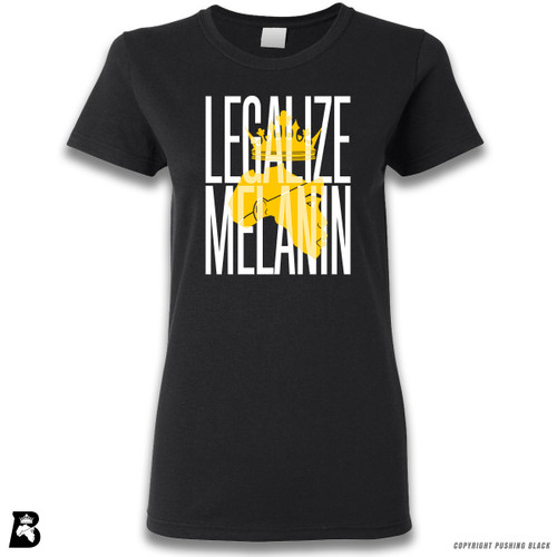 'Legalize Melanin' Premium Unisex T-Shirt