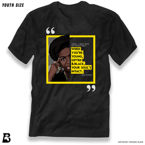 "'The Legacy Collection - Nina Simone ""Young Gifted and Black""' Premium Youth T-Shirt"