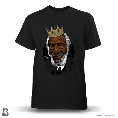 'Dick Gregory Remembrance' Premium Unisex T-Shirt