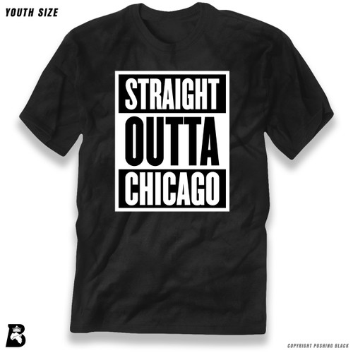 'Straight Outta Chicago' Premium Youth T-Shirt