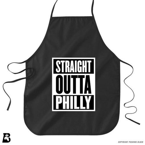'Straight Outta Philly' Premium Canvas Kitchen Apron