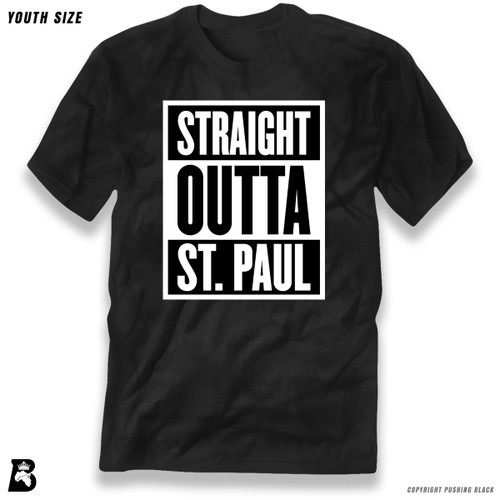 'Straight Outta St. Paul' Premium Youth T-Shirt