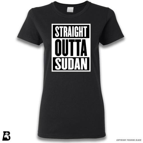 'Straight Outta Sudan' Premium Unisex T-Shirt