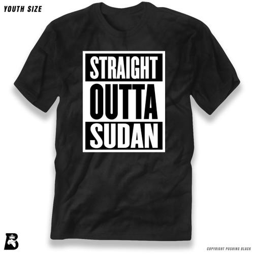 'Straight Outta Sudan' Premium Youth T-Shirt