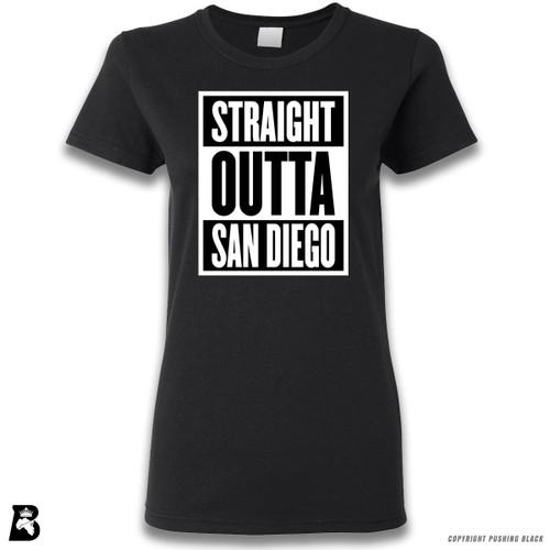 'Straight Outta San Diego' Premium Unisex T-Shirt