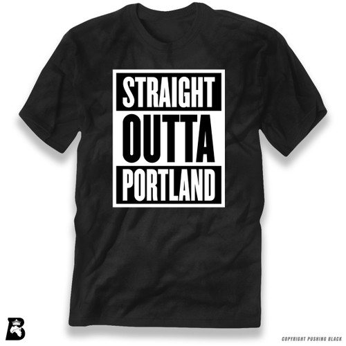 'Straight Outta Portland' Premium Unisex T-Shirt
