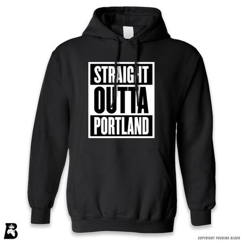 'Straight Outta Portland' Premium Unisex Hoodie with Pocket