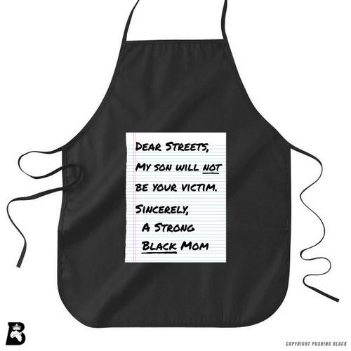 'Dear Streets' Premium Canvas Kitchen Apron