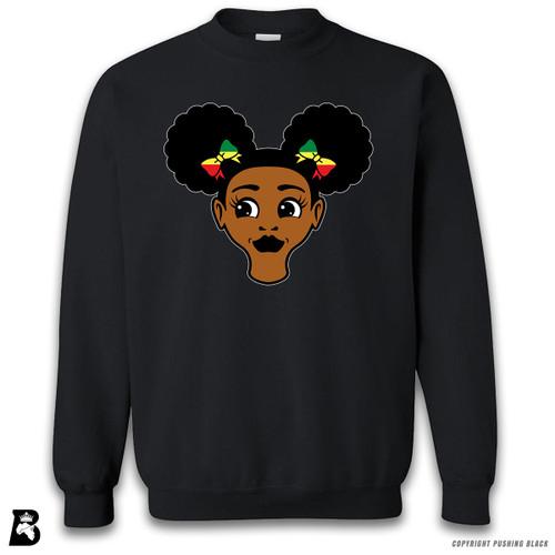 'Afro Puffs' Premium Unisex Sweatshirt