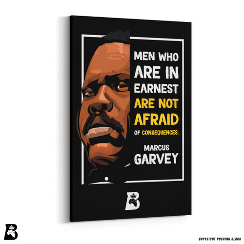 "'The Legacy Collection - Marcus Gavey ""Men Who Are In Earnest""' Premium Wall Canvas"
